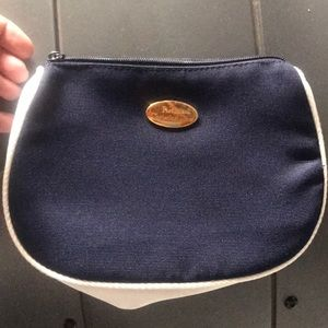 Christian Dior cosmetic bag navy and white NWOT vi
